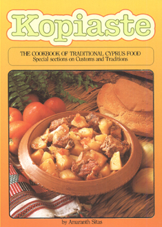 kopiaste the cookbook of traditional cyprus food special sections