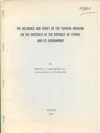 an analysis of the damaging effects on cyprus of the turkish invasion of 1974