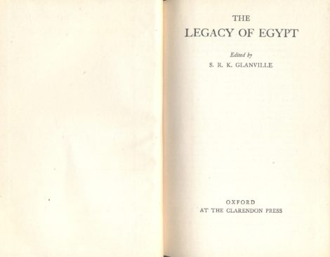 The Legacy of Egypt