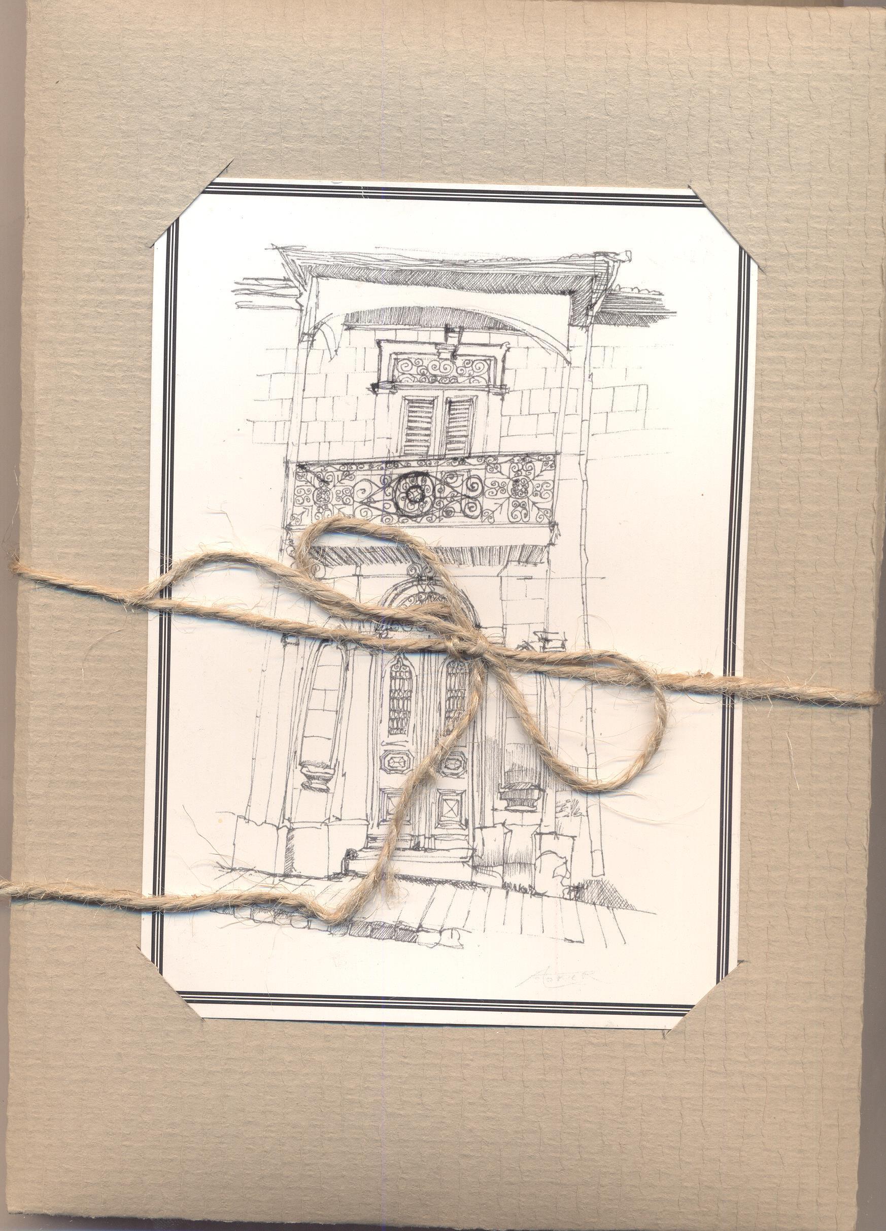 Alexandra Storer Cards (Architectural Series Nicosia, Cyprus)