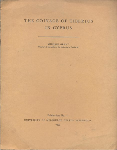THE COINAGE OF TIBERIUS IN CYPRUS