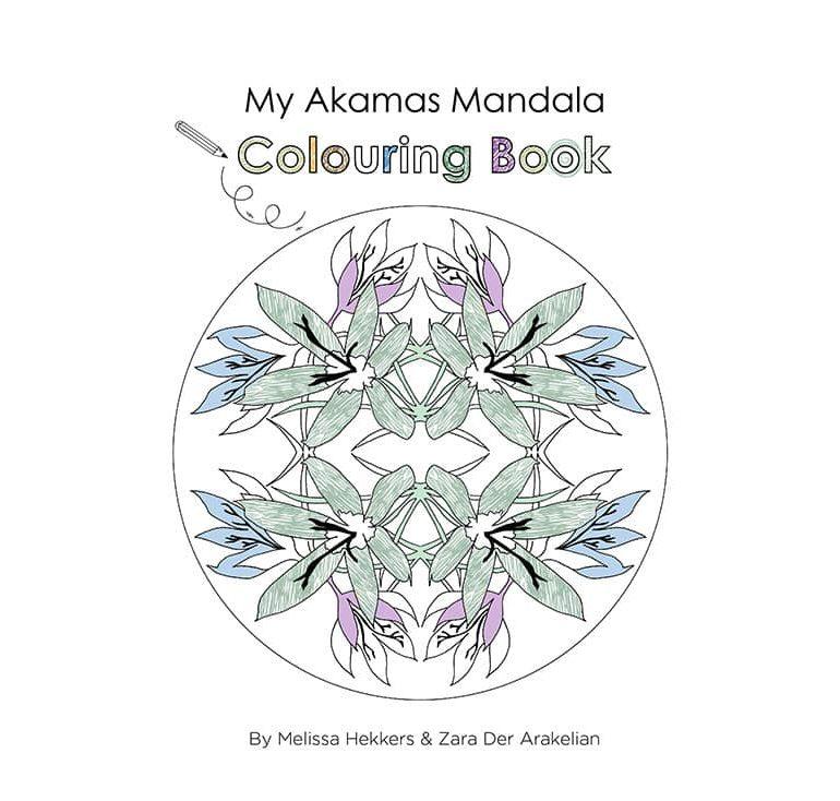 My Akamas Mandala Colouring Book