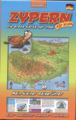 Cyprus, the island's first map for kids